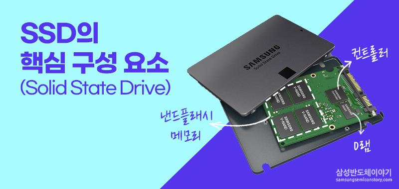 컴퓨터를 빠르게 만드는 치트키! SSD의 핵심 구성요소