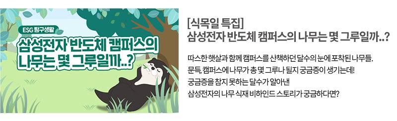 [삼성반도체이야기 뉴스레터 12호] 나무