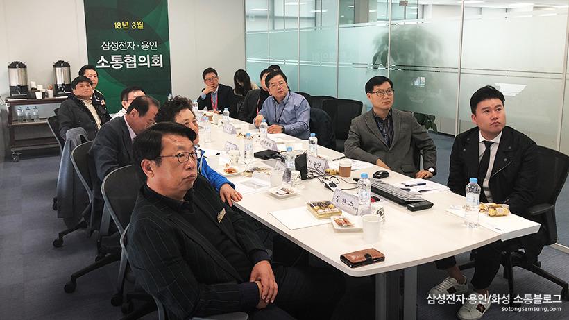 『삼성전자·용인 소통협의회』 3월 정기회의8